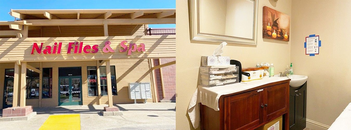 Nail Files & Spa - Nail salon in La Borgata El Dorado Hills, CA 95762